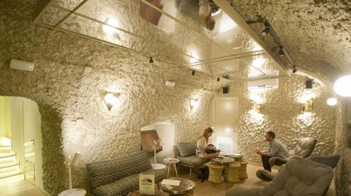 Espacio en el sótano de la heladería Mistura