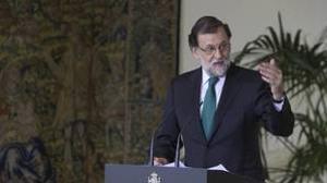 Rajoy recurre al Tribunal Constitucional la reforma del Parlament para una independencia exprés