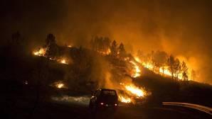 Un incendio del pasado septiembre