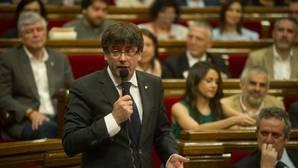 El Tribunal Constitucional suspende la vía exprés para aprobar las leyes para la independencia catalana