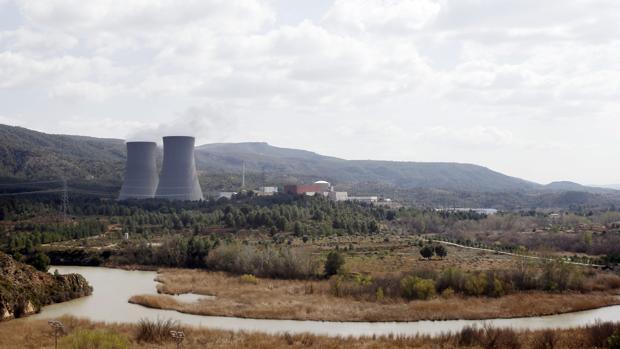 Imagen de la central nuclear de Cofrentes, en la provincia de Valencia