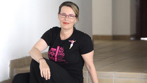 La directora de teatro, Natalia Menéndez