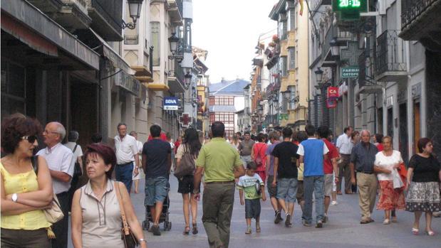 El turismo es uno de los puntales de la provincia oscense. En la imagen, casco urbano de Jaca