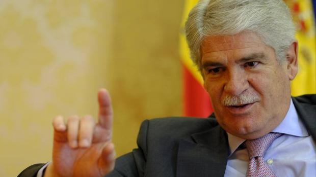 El ministro de Asuntos Exteriores, Alfonso Dastis, durante la entrevista concedida a ABC