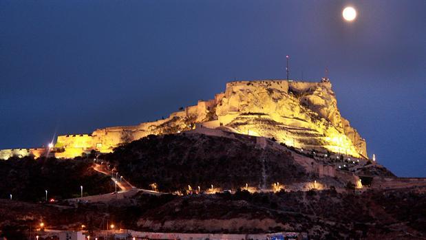 Imagen de archivo del Castillo Santa Bárbara de Alicante