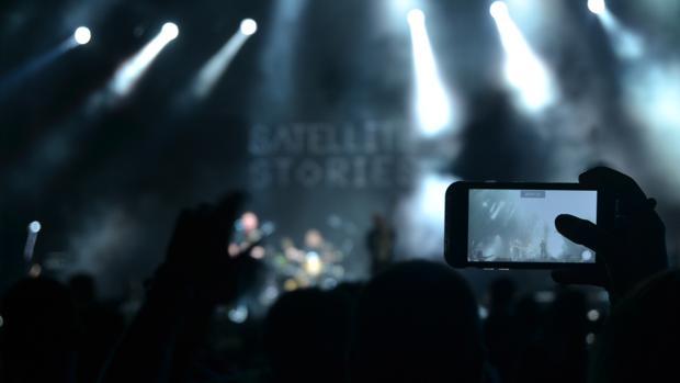Imagen de un concierto de esta edición del Festival Arenal Sound