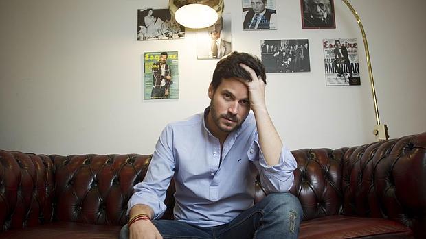 Willy Bárcenas, en una tienda de Madrid