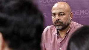 José García Molina, líder de Podemos en Castilla-La Mancha