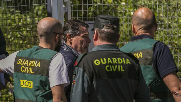 Ignacio González, el día de su detención