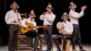 La compañía Ron Lalá representa la obra «Siglo de Oro, siglo de ahora» en los Teatros del Canal