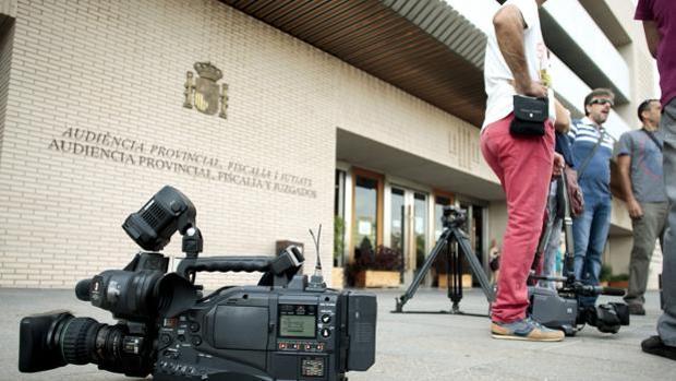 Imagen de archivo de la Audiencia Provincial de Castellón