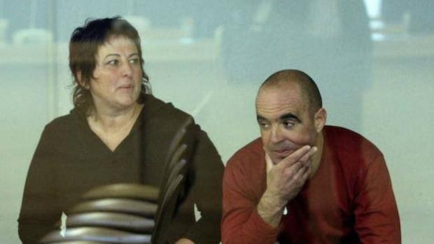 Los etarras Josune Balda y Jose Camacho en la Audiencia Nacional