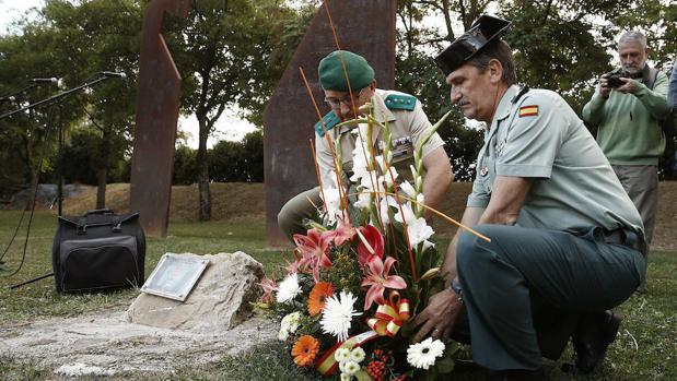El acto homenaje a Francisco Casanova, hace dos dís en Berriozar