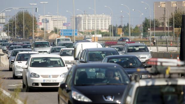 Imagen de archivo de una carretera de Valencia