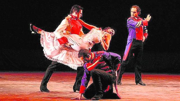 La obra «Carmen», de Bizet, que se está representando en el Teatro Nuevo Apolo de Madrid