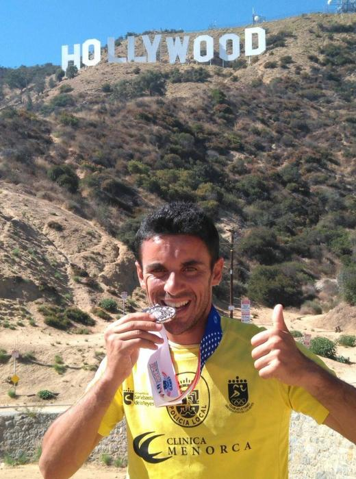 Un policía de Alcobendas, medalla de plata en los Juegos Mundiales de Policías y Bomberos