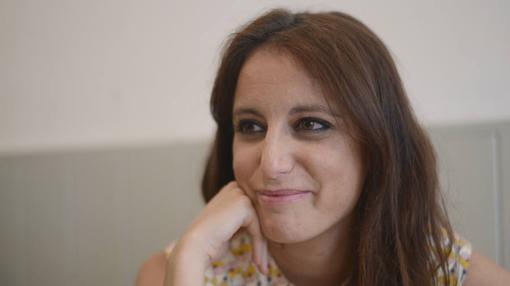 Andrea Levy, durante su entrevista con ABC