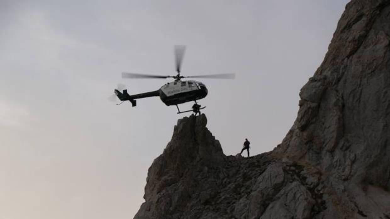 Localizado el cadáver del montañero vasco desaparecido en el Pirineo