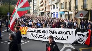 Radicales se preparan para rendir homenaje al preso Díez Usabiaga en Guipúzcoa