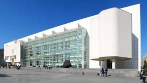 Fachada del MACBA de Barcelona