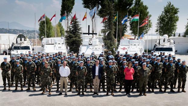Canarias subraya el papel del Ejército en la misión de paz de Líbano