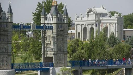 El Parque Europa en una fotografía de archivo