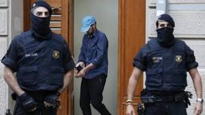 Uno de los presuntos yihadistas detenidos en Ripoll