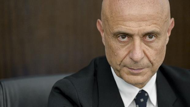 Una imagen del ministro de Interior Marco Minniti, titular del gobierno de centro izquierda de Gentiloni
