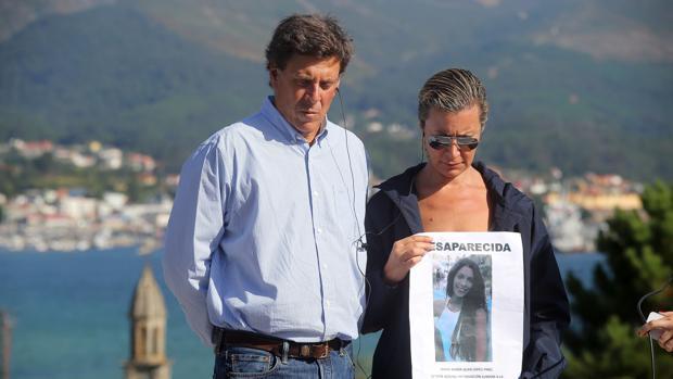 Los padres de Diana Quer, a las pocas horas de su desaparición