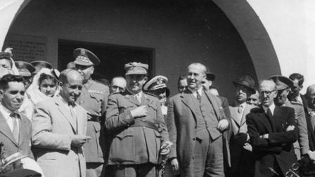 García Escámez en Fuencaliente (La Palma) en abril de 1944.