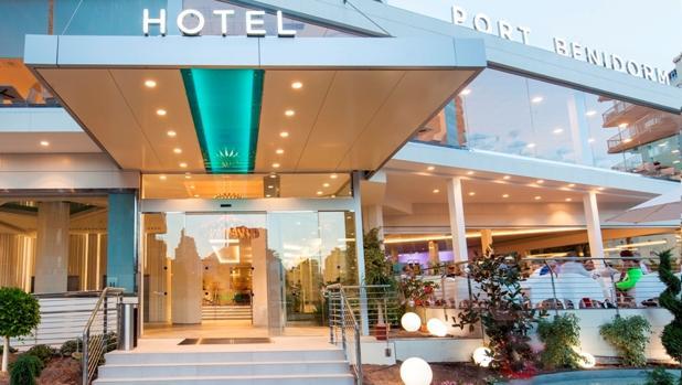 Uno de los hoteles de la cadena, en Benidorm