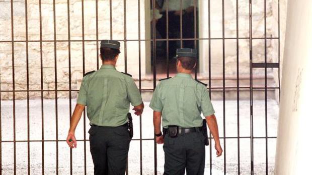 Imagen de la Guardia Civil de Alicante