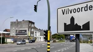 Imagen de la entrada a la localidad belga de Vilvoorde