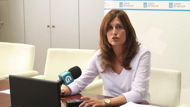 La directora xeral de Avaliación e Reforma Administrativa, Natalia Prieto