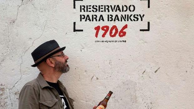 Muro reservado a Banksy en
