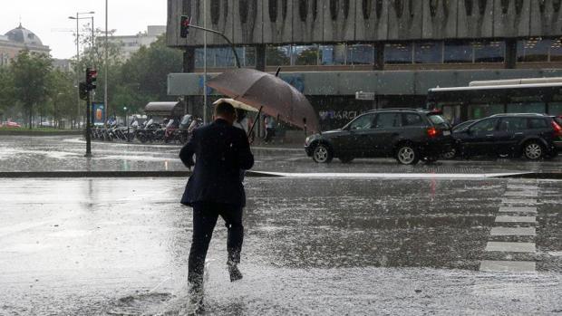 Cantidad lluvia recogida hoy