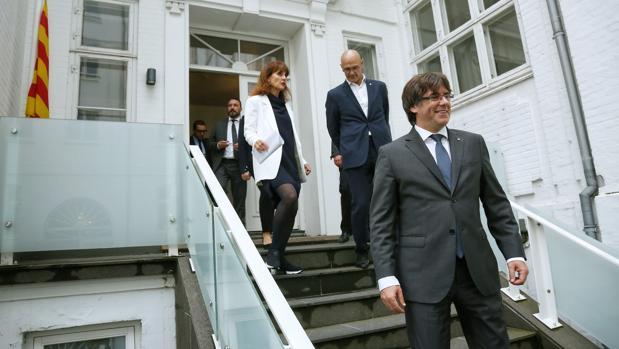 Dinamarca planta a Puigdemont en la inauguración de su «embajada»