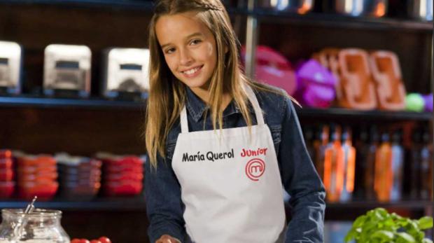 María Querol, en el programa Master Chef Junior