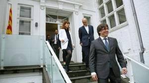 Puigdemont y Romeva encabezan la apertura de la «embajada» catalana en Copenhage