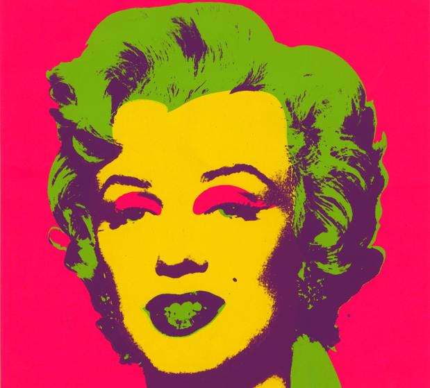 Andy Warhol. Marilyn Print. 1967. Serigrafia sobre paper. Collection of the Andy Warhol Museum, Pittsburgh © 2017