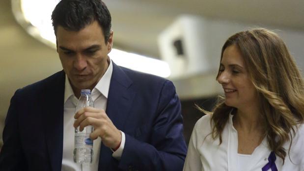 Pedro Sánchez y Susana Sumelzo, en una imagen de archivo
