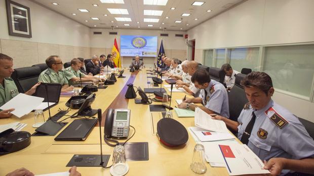 La reunión fue presidida ayer por Juan Ignacio Zoido