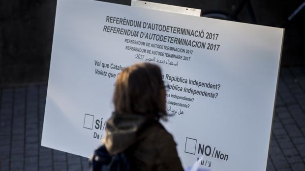 Campaña de la CUP a favor del voto