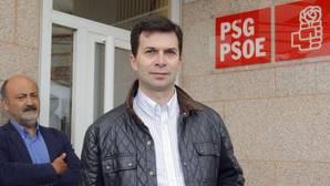 El candidato a las primarias del PSdeG, Gonzalo Caballero