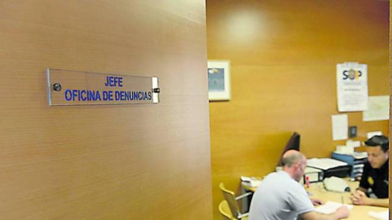 La oficina de denuncias del distrito de salamanca cerrar for Oficina registro madrid