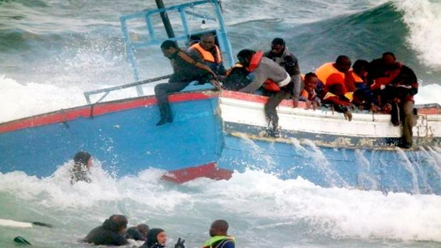 Autoridades de Marruecos intentan evitar la salida de un barco rumbo a Canarias en diciembre de 2015