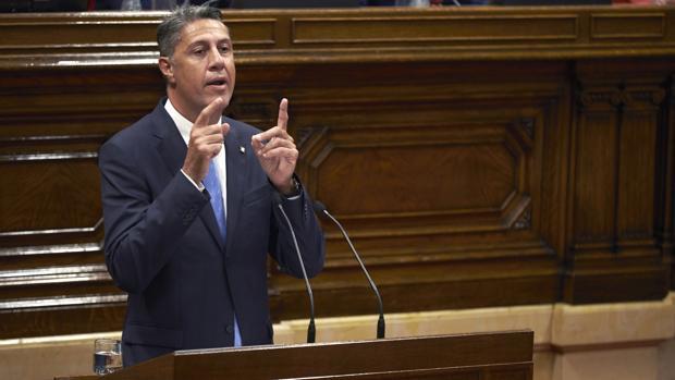 El presidente del PPC, Xavier García Albiol