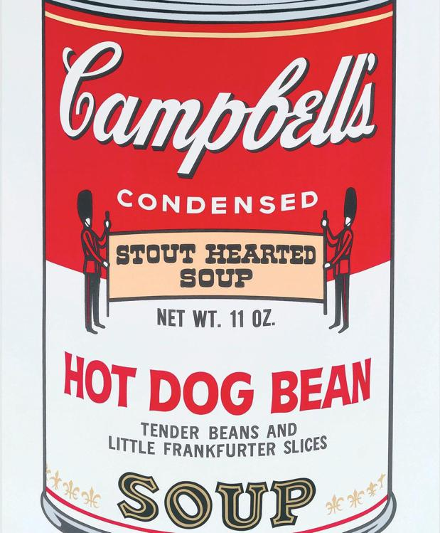 Lata de sopa Campbell, de Andy Warho