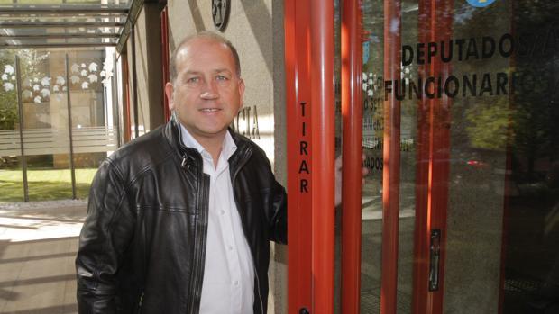 Leiceaga, en el Parlamento de Galicia
