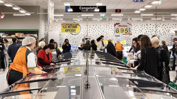 Imagen de archivo de un supermercado de Mercadona en el Puerto de Sagunto